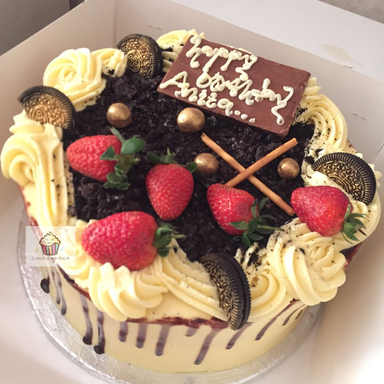 Swell Nekas Abuja Oreo Dirt Cake Jaracake Funny Birthday Cards Online Chimdamsfinfo