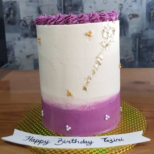 purple and tall cake portharcourt