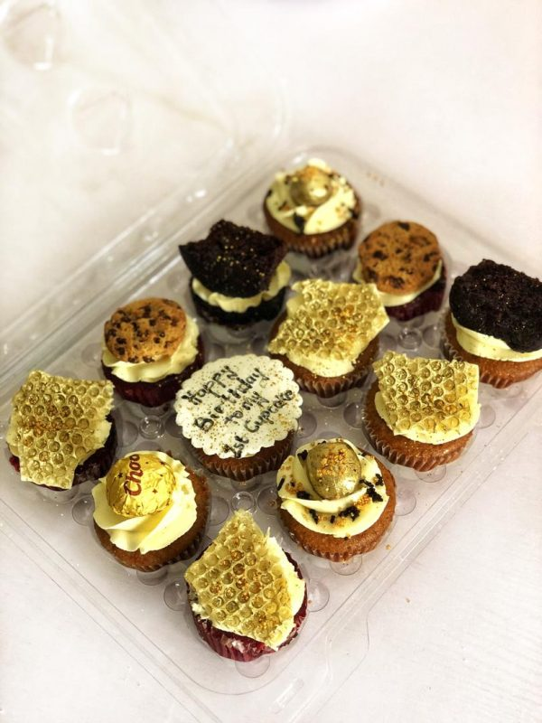 cupcakes with toppings
